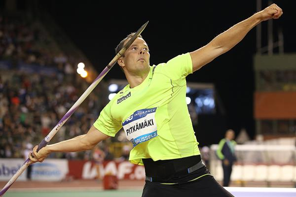Tero Pitkamaki at the 2015 IAAF Diamond League final in Brussels (Giancarlo Colombo)