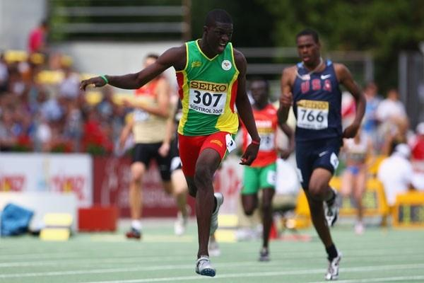 Kirani James of Grenada wins gold in the Boys' 400m final (Getty Images)