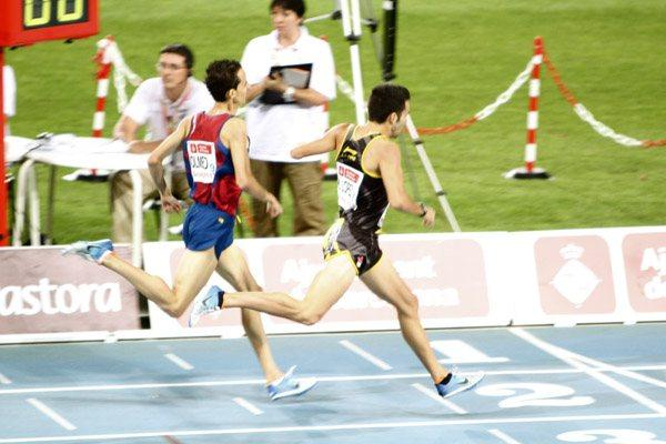 Kevin López (right) wins in Barcelona  (Alberto Montenegro)