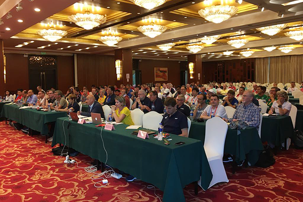 The audience at the IAAF Race Walking Seminar in Taicang (IAAF Race Walking Committee)