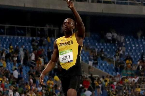 Usain Bolt after winning the 200m at the Rio 2016 Olympic Games (Getty Images)