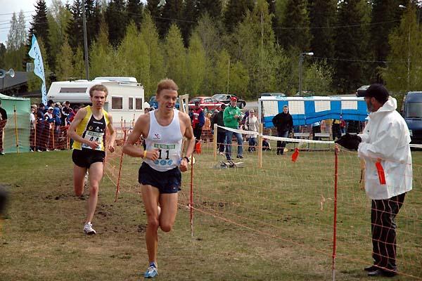 Jukka Keskisalo on his way to win men's short race (A-P Sonninen)