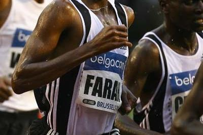 Farah of Great Britain competes during the Men's 5000m (Getty Images)