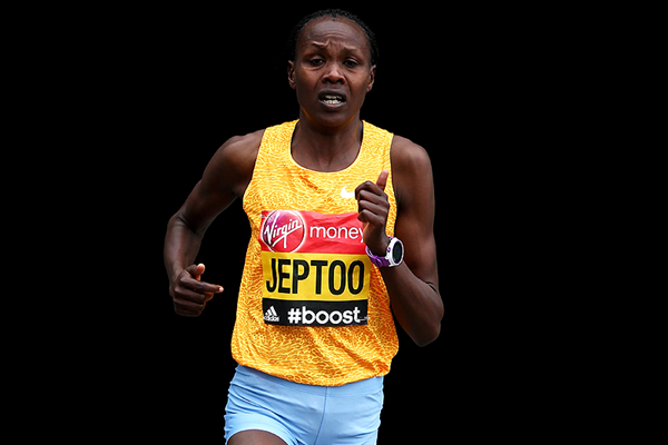 Kenyan distance runner Priscah Jeptoo (Getty Images)