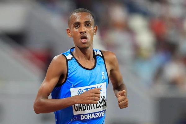 Tachlowini Gabriyesos competes at the World Athletics Championships Doha 2019 (Getty Images)