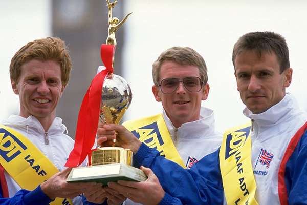 Britain win the 1991 IAAF World Marathon Cup (Getty Images)