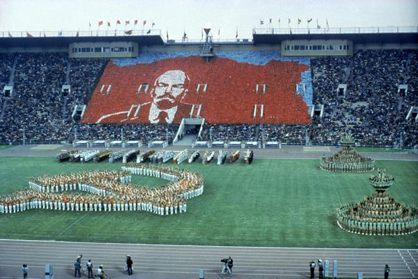 1980 Olympics opening ceremony