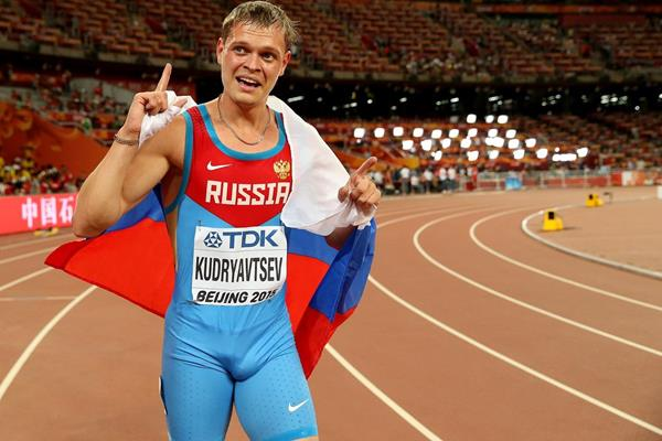Denis Kudryavtsev at the IAAF World Championsships Beijing 2015. (Getty Images)