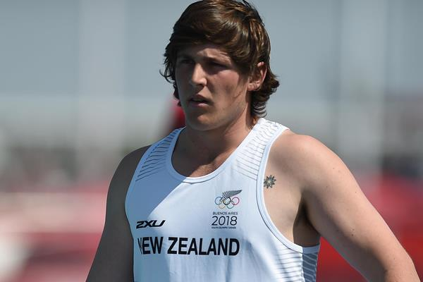 New Zealand discus thrower Connor Bell (Getty Images)
