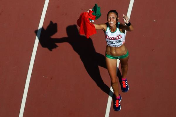 Portuguese race walker Ana Cabecinha (Getty Images)
