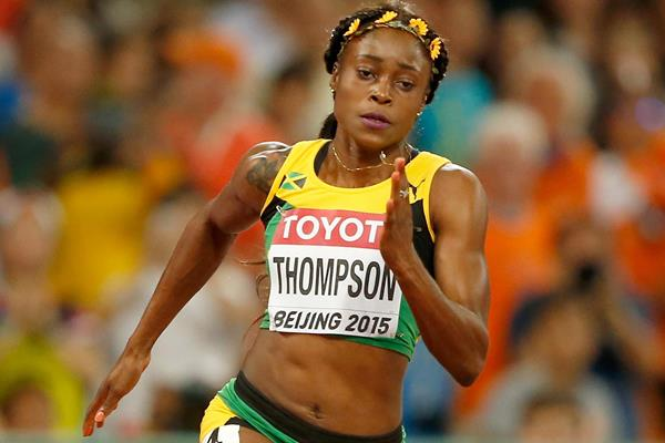 Elaine Thompson in the 200m at the IAAF World Championships, Beijing 2015 (Getty Images)