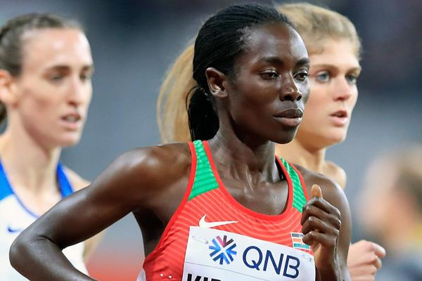 Margaret Chelimo Kipkemboi at the IAAF World Athletics Championships Doha 2019 (Getty Images)