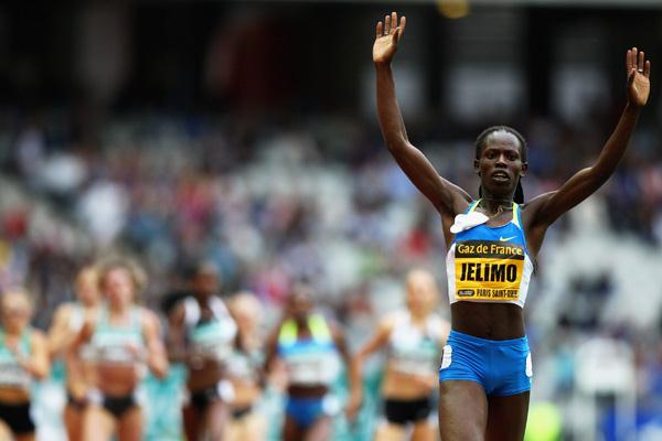Pamela Jelimo improves on her world junior 800m record (Getty Images)