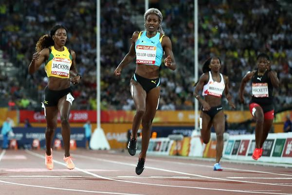 Shaunae Miller-Uibo wins the 200m at the Commonwealth Games (Getty Images)