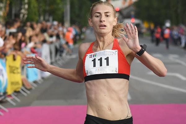 Katsiaryna Shaban Karneyenka wins the Vidovdan Road Race (Organisers)