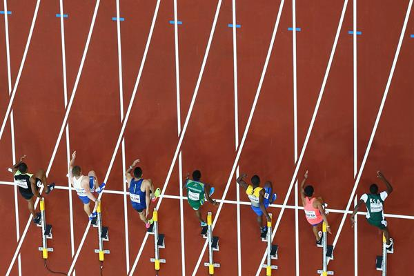 Runners leaving the blocks (Getty Images)