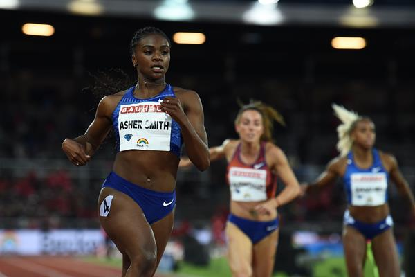 Convincing victory for Dina Asher-Smith in Stockholm (AFP/Getty Images)