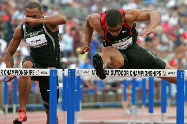 Terrence Trammell - runs a 'hot' 13.08 - USATF (Getty Images)