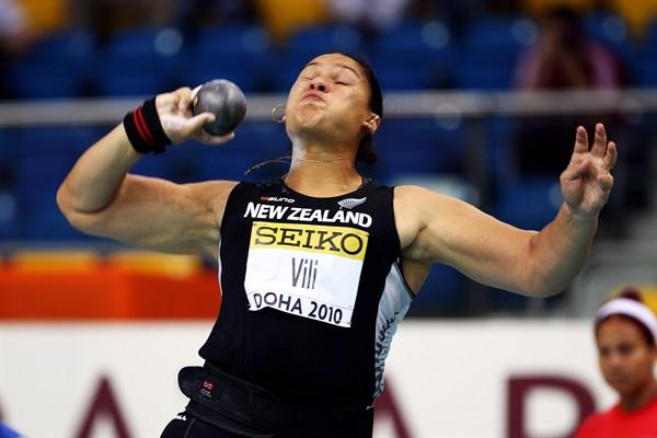 Valerie Vili launches her World indoor title defence in Doha (Getty Images)