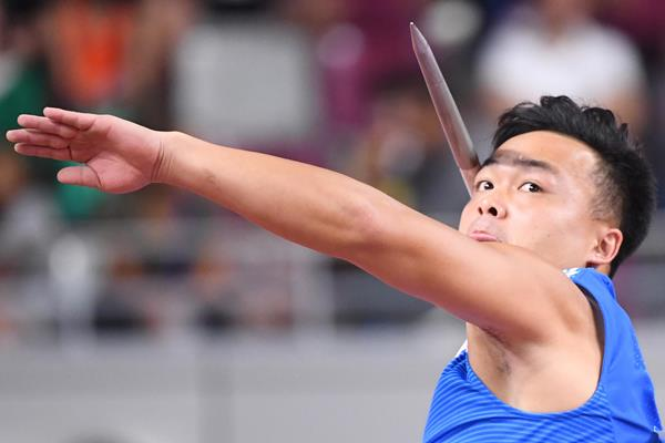 Cheng Chao-Tsun at the IAAF World Athletics Championships Doha 2019 (AFP / Getty Images)
