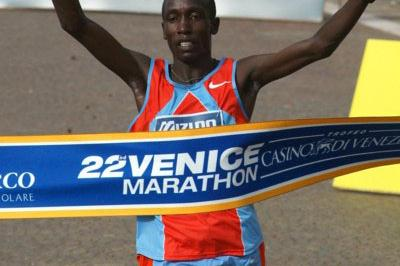 Jonathan Kosgei defends his title in Venice (Lorenzo Sampaolo)