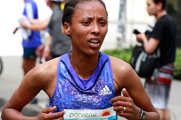 Ethiopian distance runner Guteni Shone (Organisers)