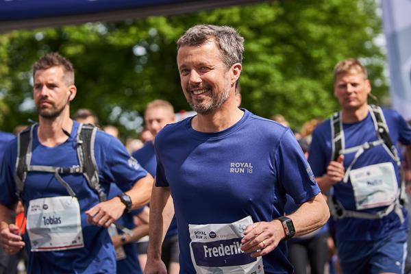 His Royal Highness Danish Crown Prince Frederik (Jan Kejser/Royal Run)