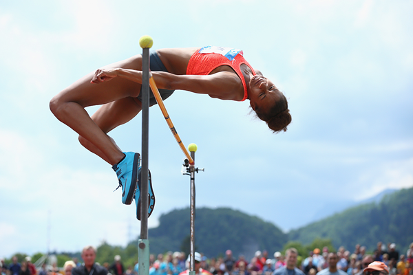 Nafissatou Thiam in the heptathlon high jump at the Hypo Meeting in Gotzis (Getty Images)