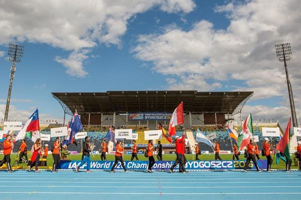 The opening ceremony of the IAAF World U20 Championships (Getty Images)