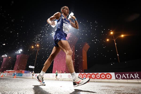 Colombian race walker Claudio Paulino Villanueva Flores (Getty Images)
