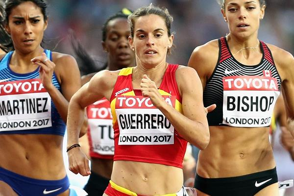 Spanish middle-distance runner Esther Guerrero (Getty Images)