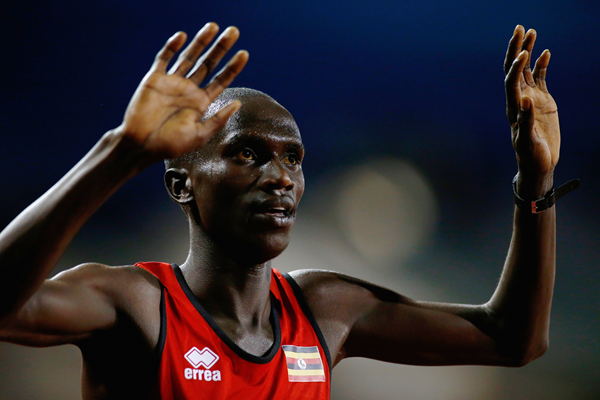 Ugandan distance runner Joshua Cheptegei (Getty Images)