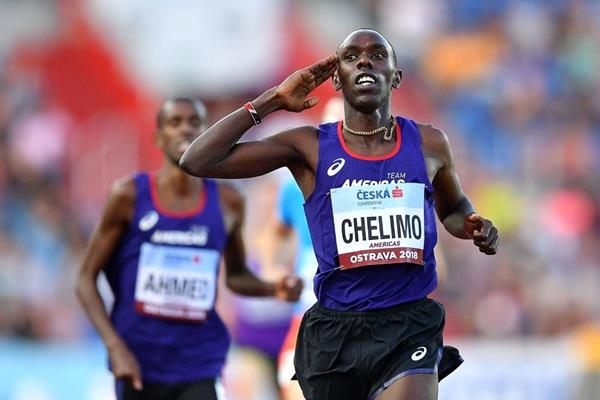 Paul Chelimo takes the Continental Cup 3000m title (Getty Images)