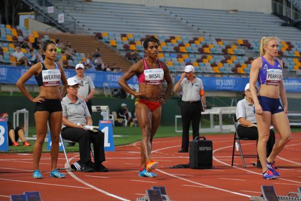 Toea Wisil at the 2015 Australian championships (HPTC Gold Coast)