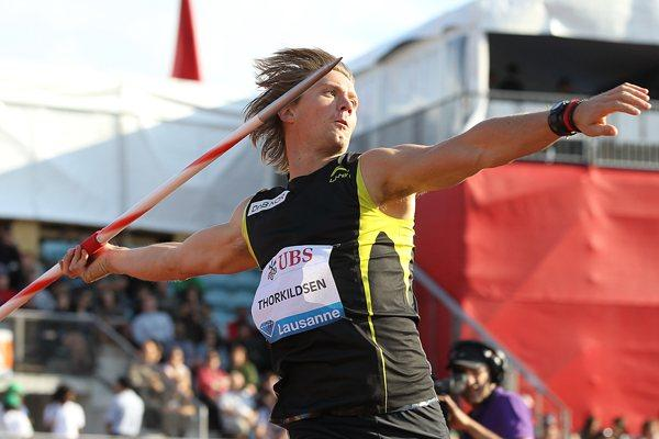Andreas Thorkildsen blasts back with 88.19m  (Giancarlo Colombo)