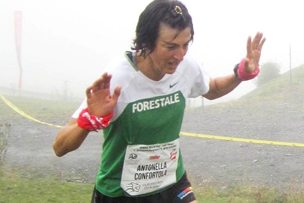 Antonella Confortola on her way to winning in Leogang (Organisers)