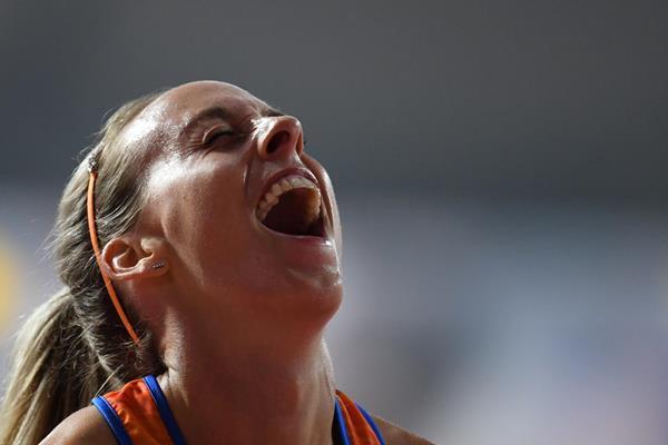 Dutch middle distance runner Susan Krumins (AFP/Getty Images)