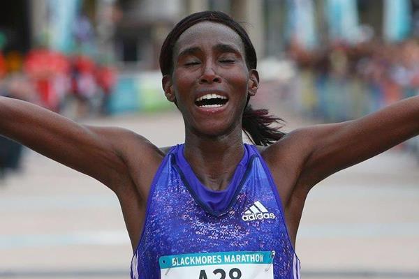 Miriam Wangari wins the Sydney Marathon (Organisers)
