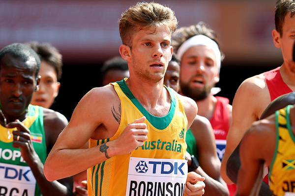 Australian distance runner Brett Robinson (Getty Images)
