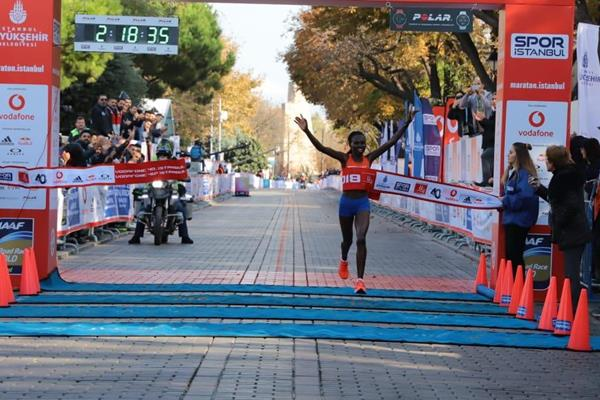 Dominant performance by Ruth Chepngetich in Istanbul (Organisers)