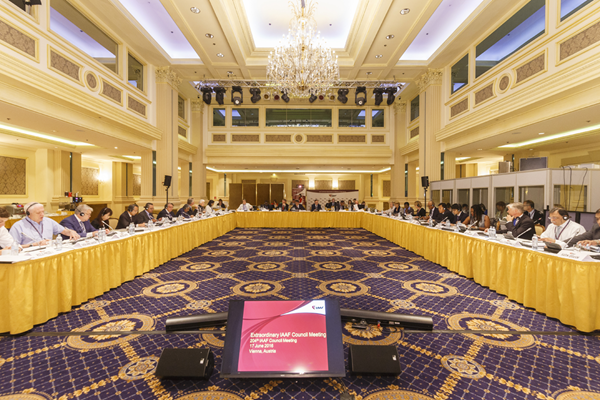 The 204th IAAF Council Meeting in Vienna (Getty Images)