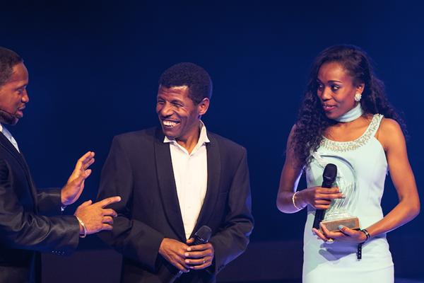 Almaz Ayana IAAF Athletics Awards 2016 ()