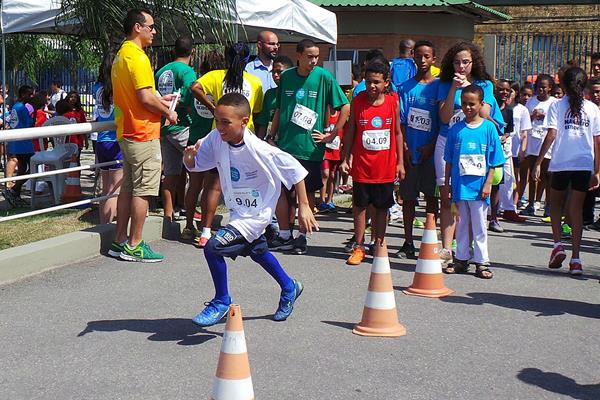 One of the many competitors during the Nanairo Ekiden Rio 2016 (Tsukuba International Academy of Sport)