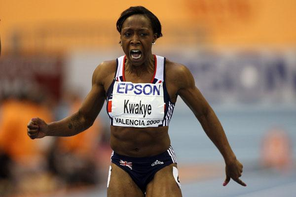 Jeanette Kwakye smashes the UK 60m record to win silver (Getty Images)