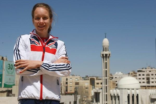Stephanie Twell on the eve of the World Cross Country Championships in Amman (Getty Images)
