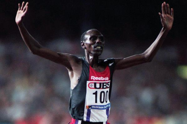 Kenyan distance runner Moses Kiptanui (Getty Images)