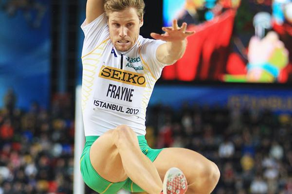 Henry Frayne of Australia competes in the Men's Long Jump Final during day two - WIC Istanbul (Getty Images)