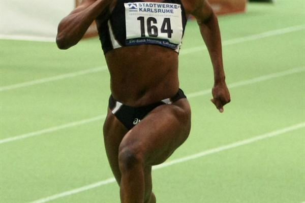 Laverne Jones-Ferrette in Karlsruhe 2010 (Getty Images)