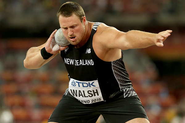 Tom Walsh in the shot put at the IAAF World Championships Beijing 2015 (Getty Images)