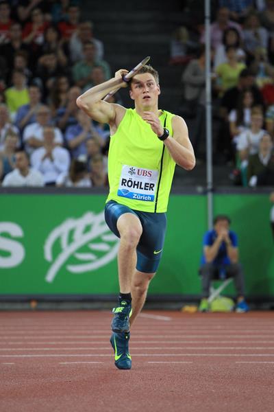 Thomas Röhler 87.63m in Zurich (Jean-Pierre Durand)